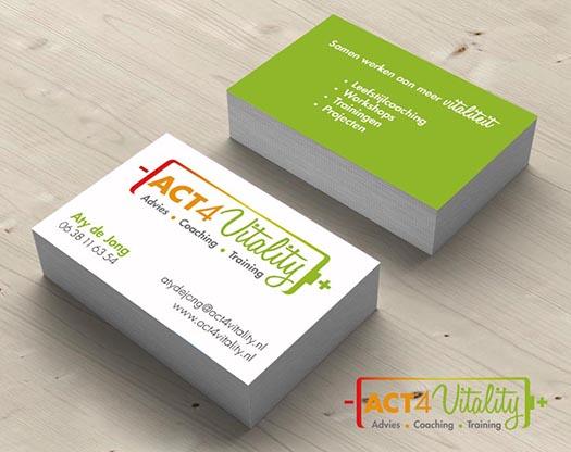 Grafisch ontwerp logo, huisstijl, visitekaartje, antirookprogramma, diëtiek.