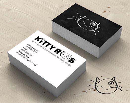Grafisch ontwerp logo, huisstijl, stationary, visitekaartje docent economie en ondernemen.