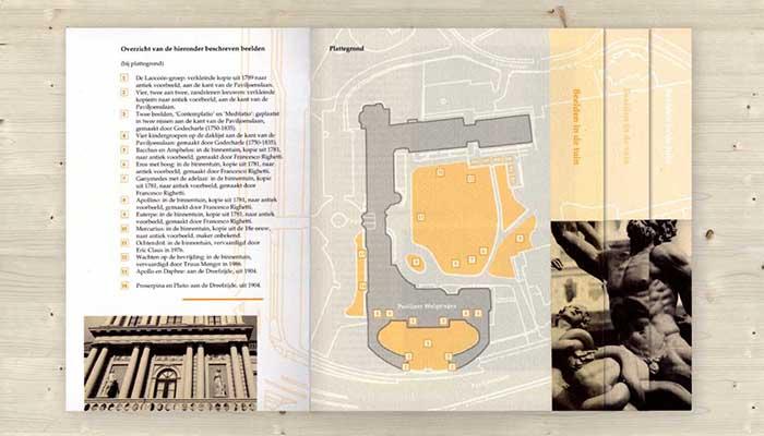 Paviljoen Welgelegen, brochure, kunstdrukwerk