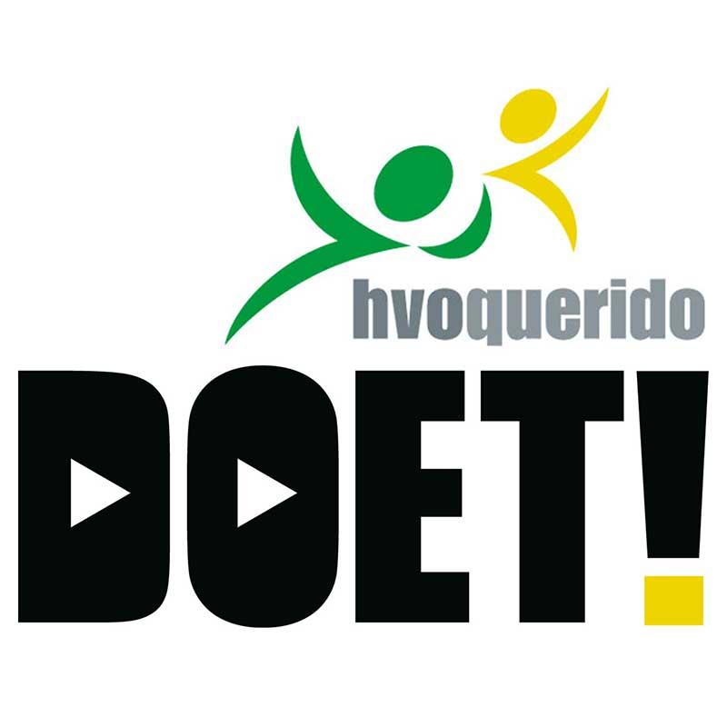 Projectlogo HVO-Doet! Ontwerp Meta Pols